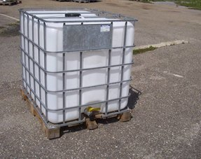 IBC Tank/ Container 1000L 2.Wahl, vorgereinigt