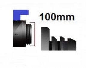 Verschlussdeckel Grobgewinde mit S100x8 (DN80)