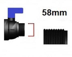 Verschlussdeckel Feingewinde mit 58mm
