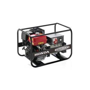 Honda Power Equipment Honda ECT 7000 - Mono/ 3-fasen , max. 7000W Inductie generator