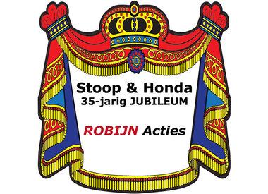 Jubileum ROBIJN Acties