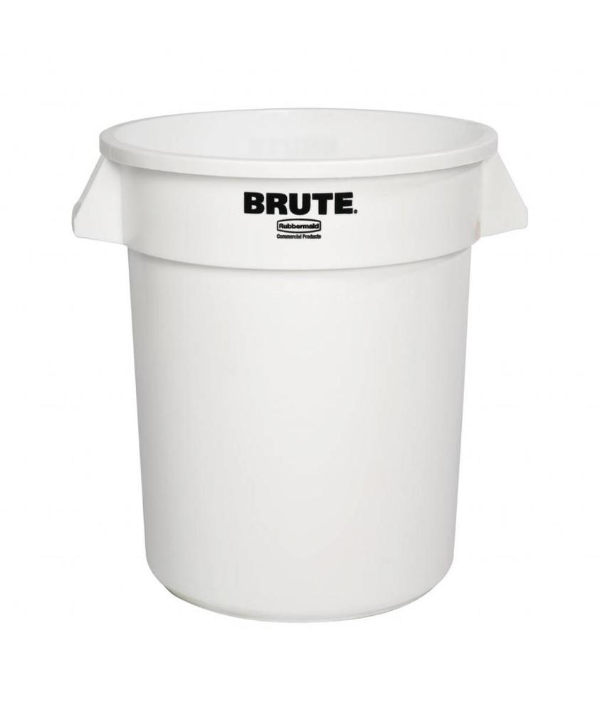 Rubbermaid Rubbermaid Brute ronde container wit 75,7L