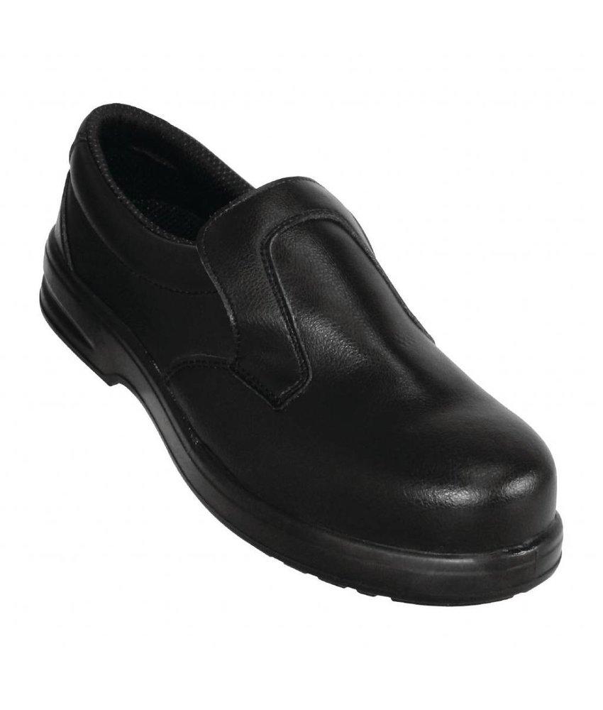 Lites Safety Footwear Lites unisex instappers zwart 39