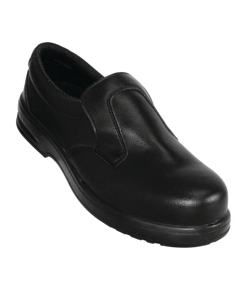 Lites Safety Footwear Lites unisex instappers zwart 47