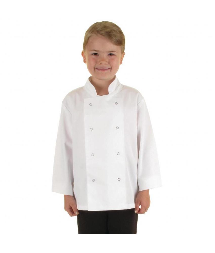 WHITES CHEFS APPAREL Whites koksbuis voor kinderen L
