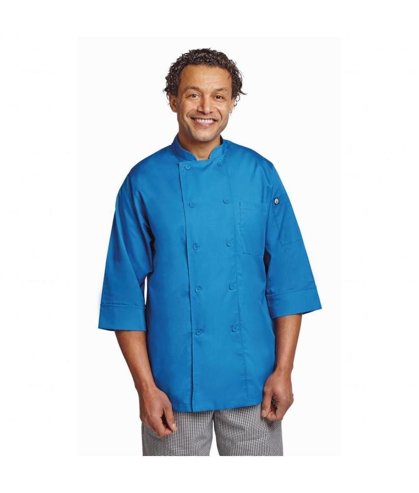 Chef Works Colour by Chef Works unisex koksbuis blauw XS