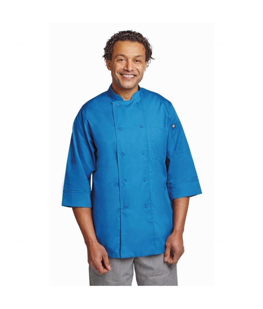 Chef Works Colour by Chef Works unisex koksbuis blauw XXL