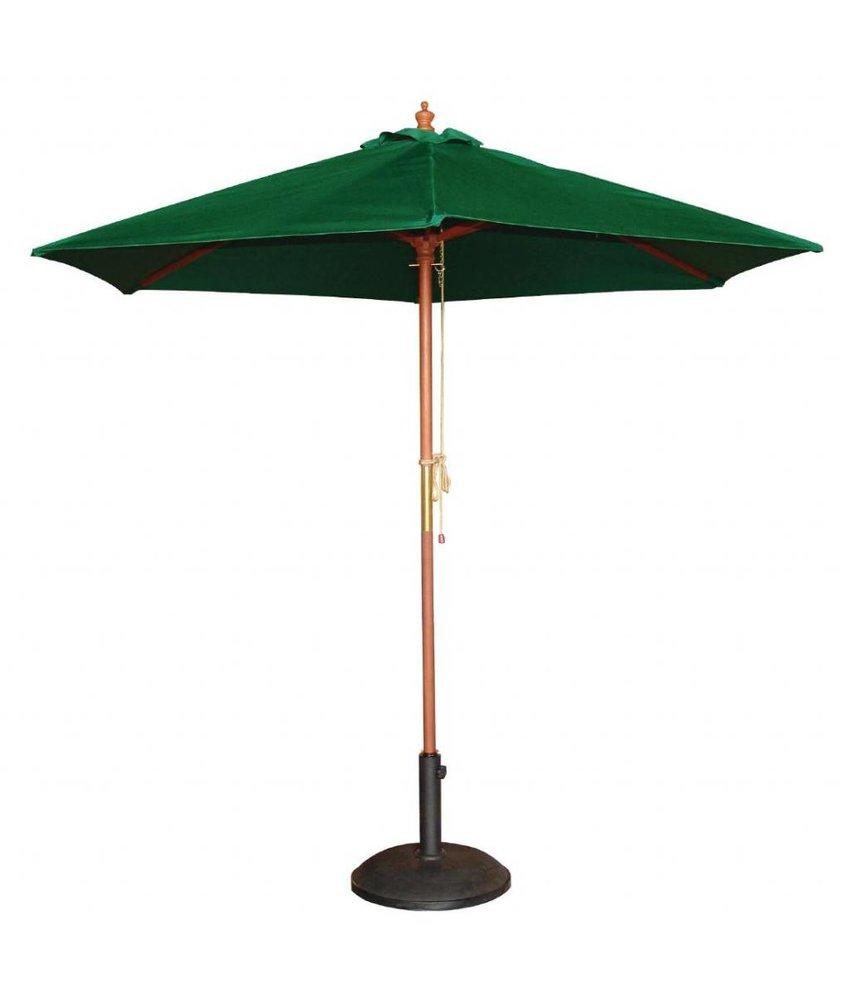Bolero Bolero ronde groene parasol 3 meter