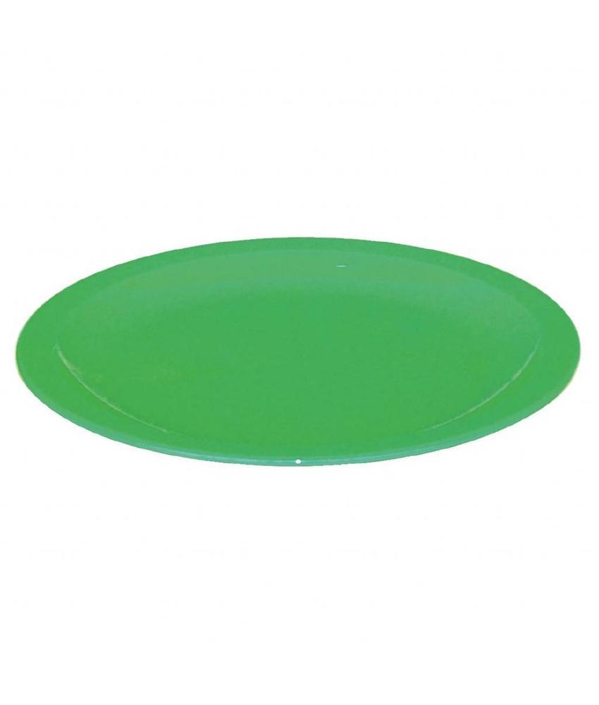 Kristallon Kristallon bord 23cm groen 12 stuks