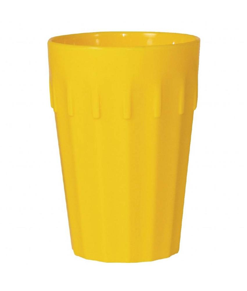 Kristallon Kristallon beker geel 26cl 12 stuks