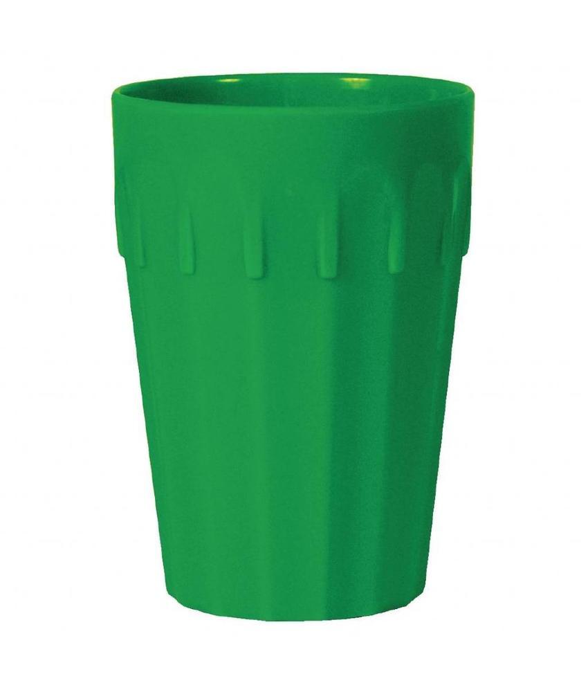 Kristallon Kristallon beker groen 14cl 12 stuks