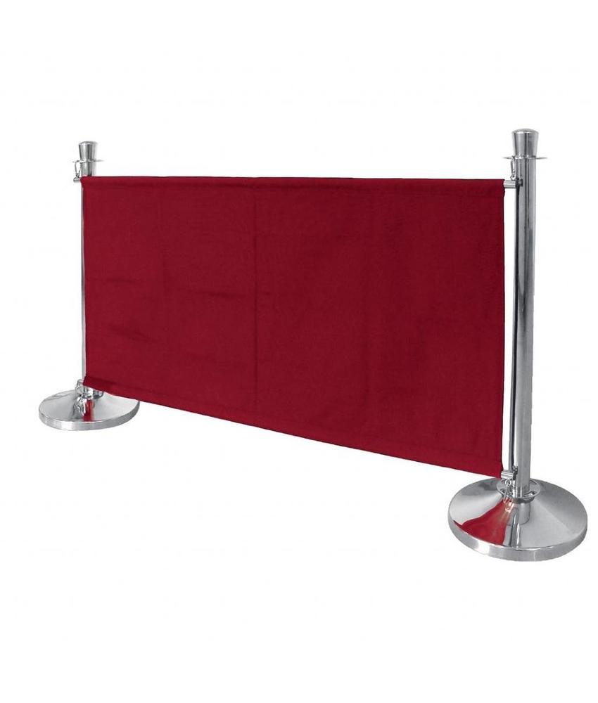 Bolero Bolero canvas afzetdoek rood