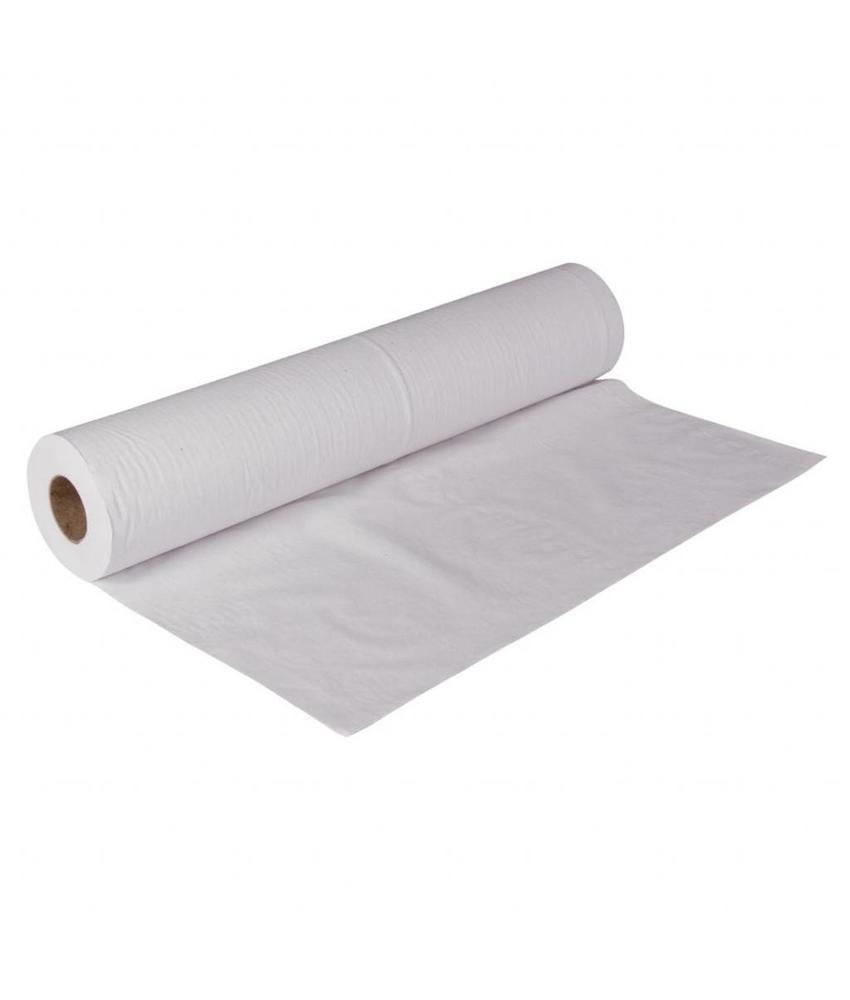 Jantex Jantex onderzoekstafelpapier wit 2-laags 12 stuks