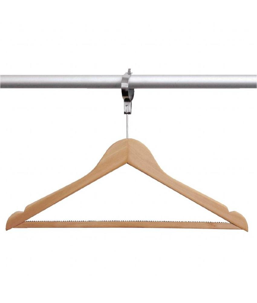 Bolero Bolero houten anti-diefstal garderobehanger 10 stuks