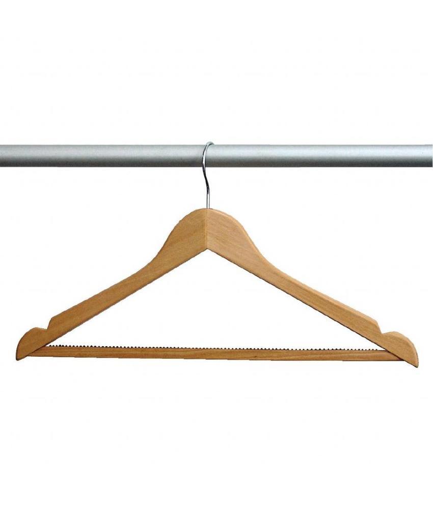 Bolero Bolero houten garderobehanger 10 stuks