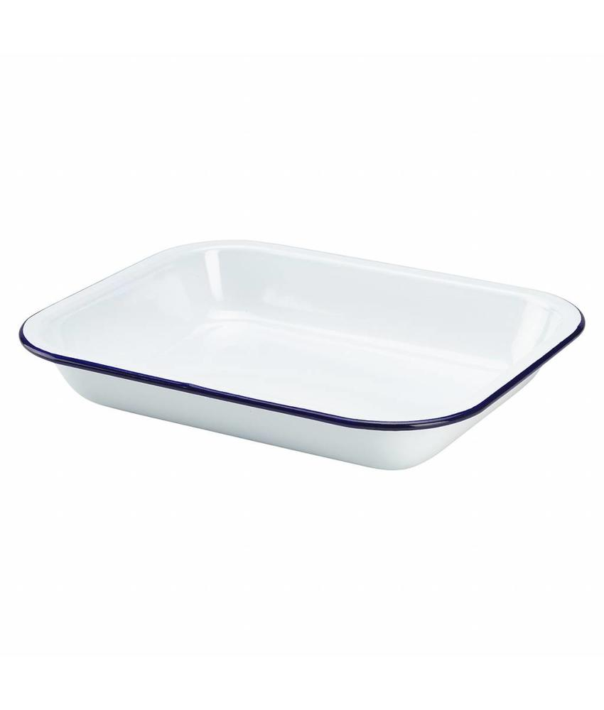 Stylepoint Emaille ovenschaal 28 x 23 x 4,5 cm 6 stuks
