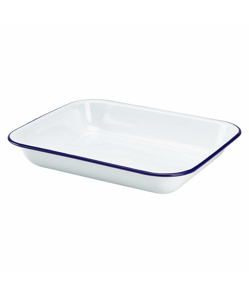 Stylepoint Emaille ovenschaal 31 x 25 x 5 cm 6 stuks
