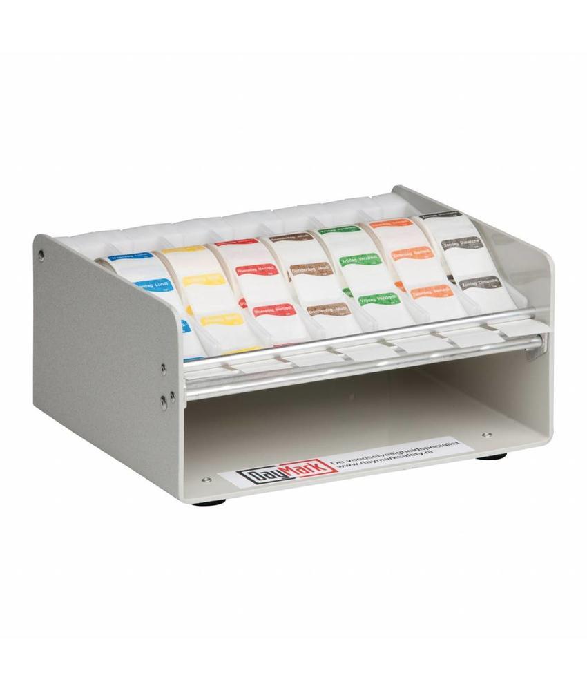 Daymark Muurdispenser metaal voor 19/25 mm stickers