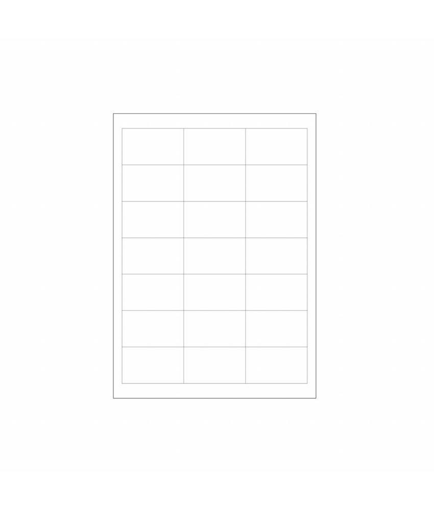 Daymark Volledig oplosbare stickers A4 vel 100/doos