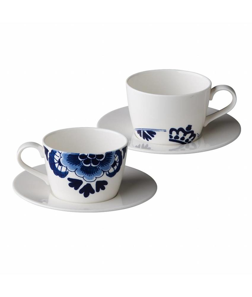 St.James Royal Delft Royal Delft kop 220 ml 6 stuks