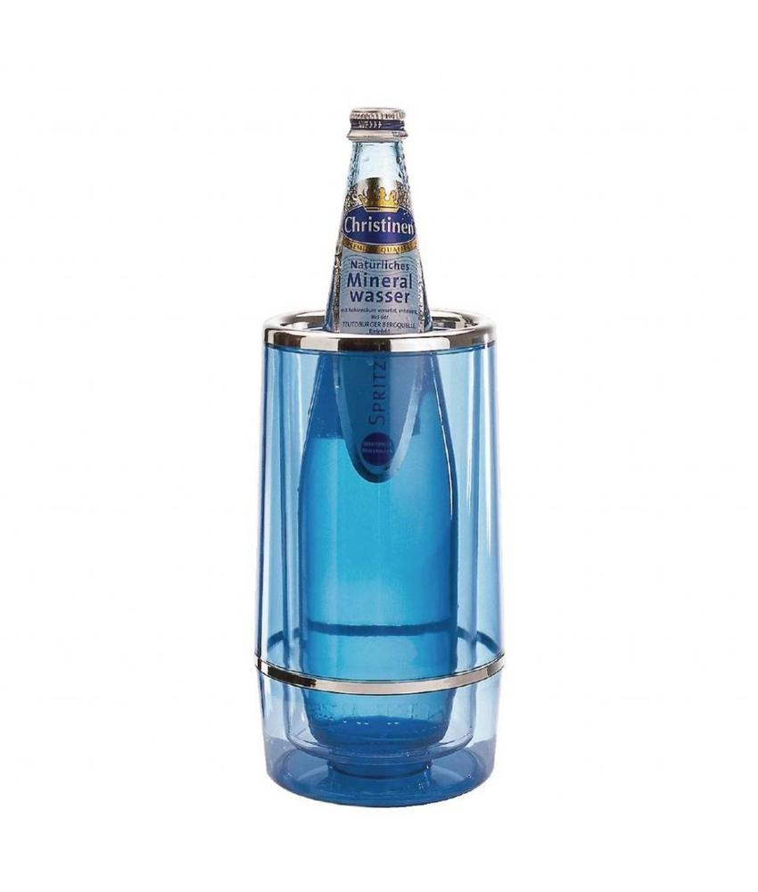 APS Wijnkoeler blauw acryl
