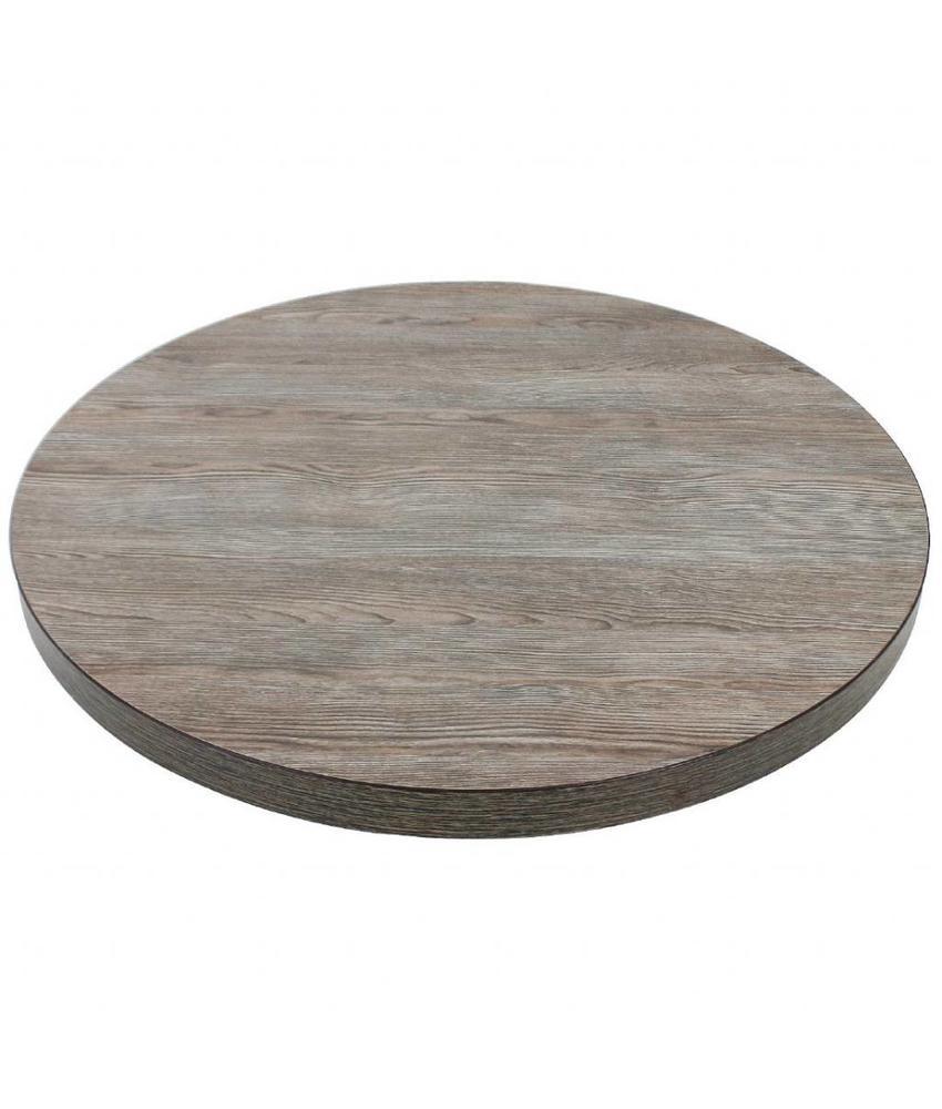 Bolero Bolero rond tafelblad Vintage Wood 60cm
