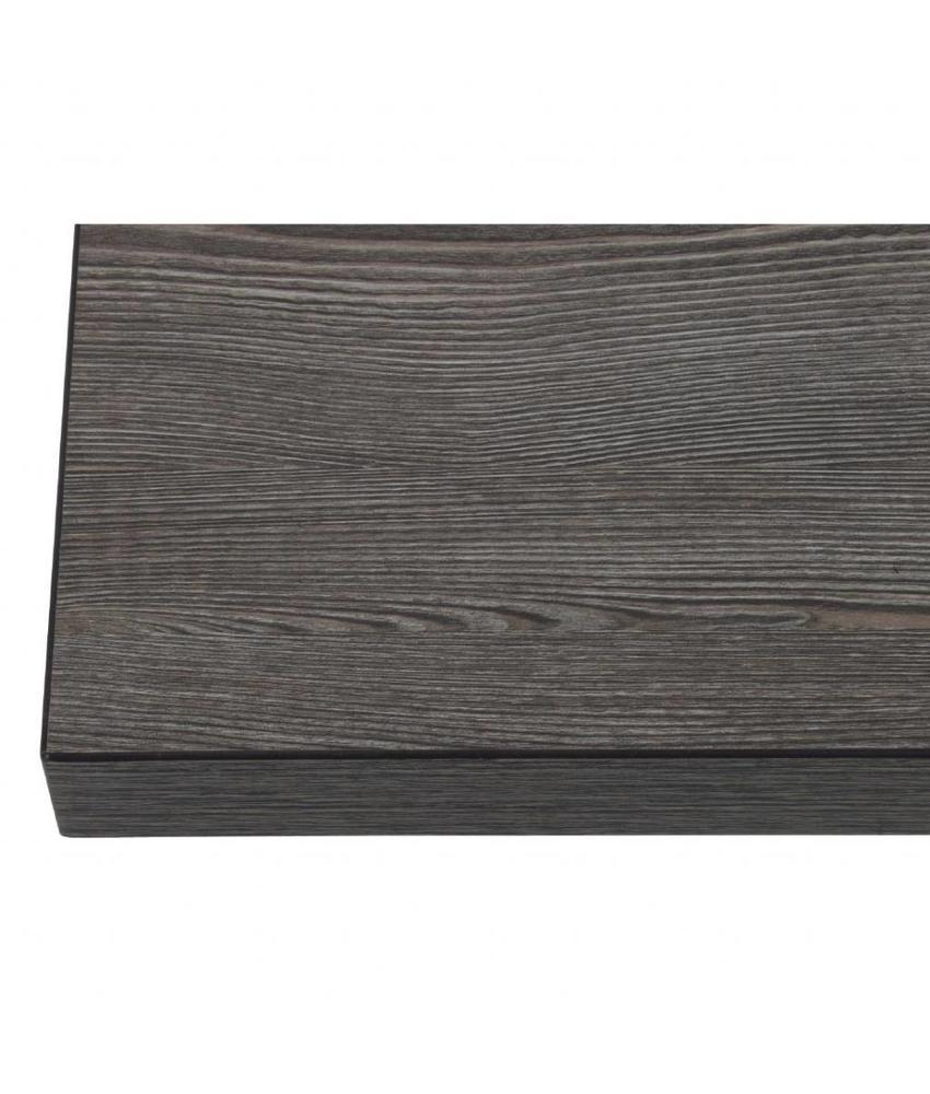 Bolero Bolero vierkant tafelblad Vintage Wood 70cm