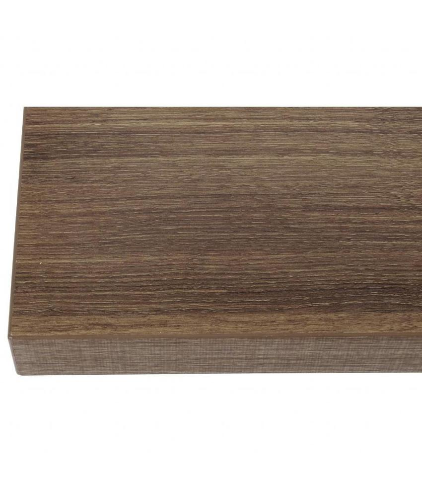 Bolero Bolero vierkant tafelblad Rustic Oak 70cm