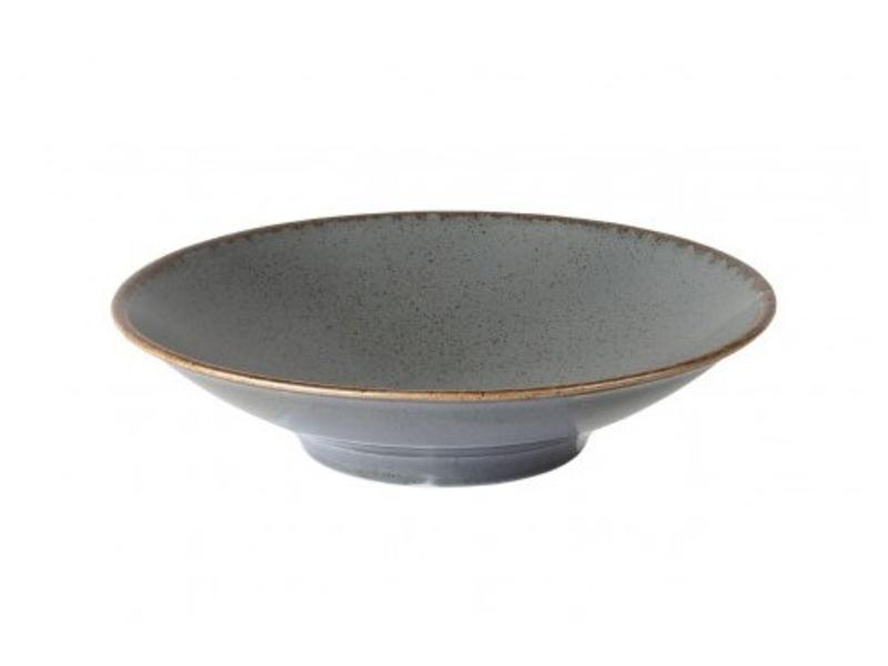 Porcelite Footed bowl Storm 26 cm 6 stuks