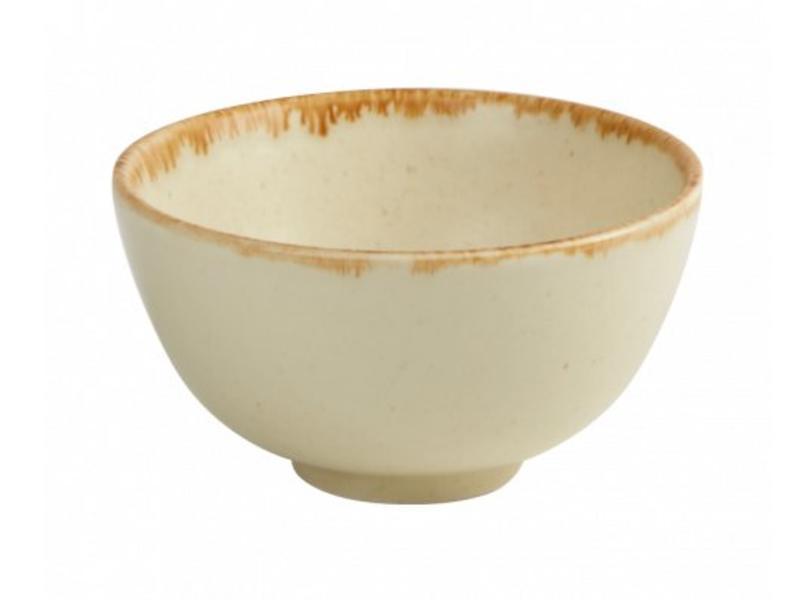 Porcelite Bowl Wheat 13 cm 6 stuks