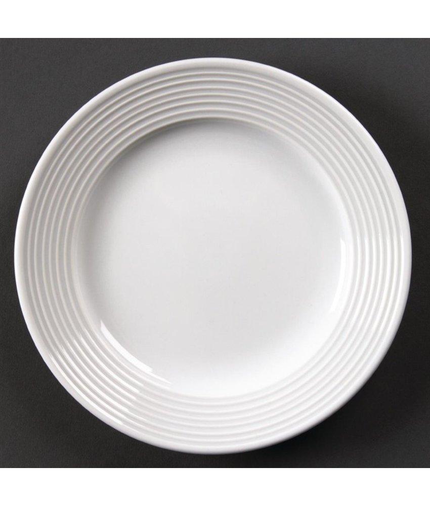 Olympia Olympia Linear borden met brede rand 31cm 6 stuks