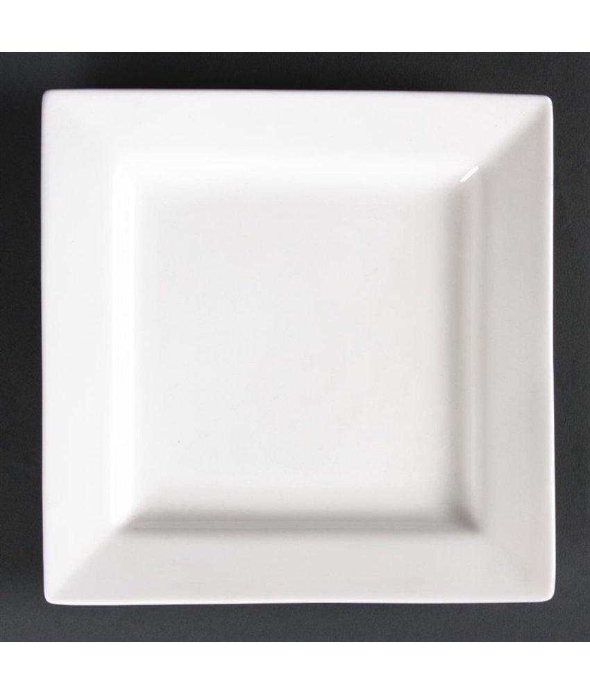 LUMINA Lumina vierkante borden 17cm 6 stuks
