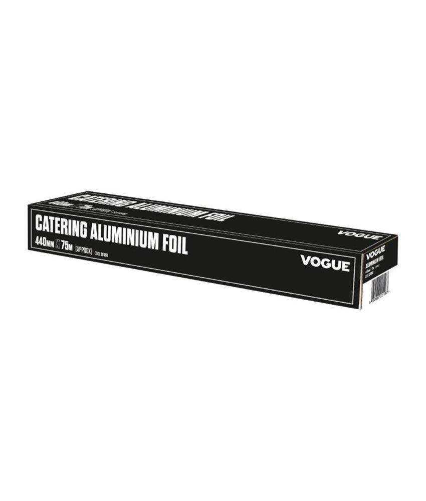 Vogue Vogue aluminiumfolie 45cm x 75mtr