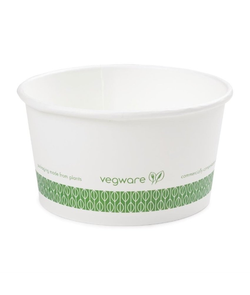 VEGWARE Vegware biologisch afbreekbaar bakje 355ml 500 stuks