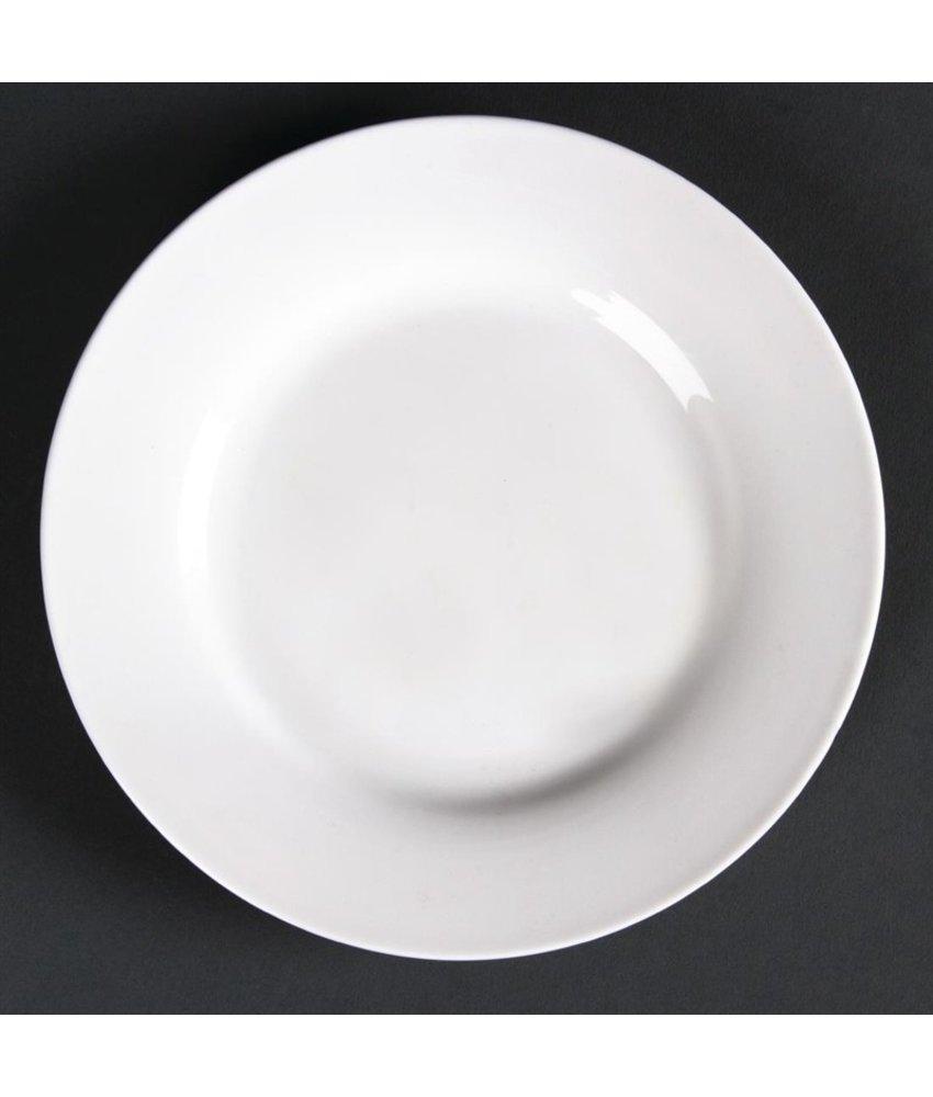 LUMINA Lumina borden met brede rand 30,5cm 2 stuks