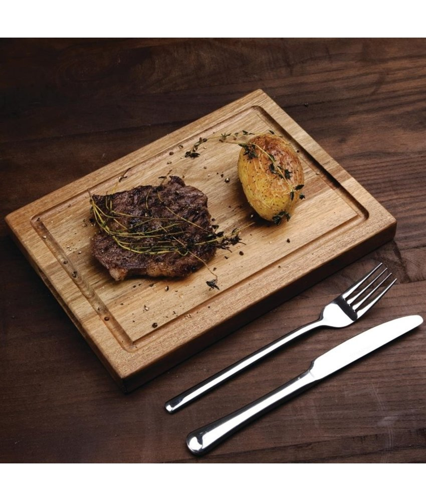 Olympia Olympia steakplank zonder inzet acacia 26x19cm