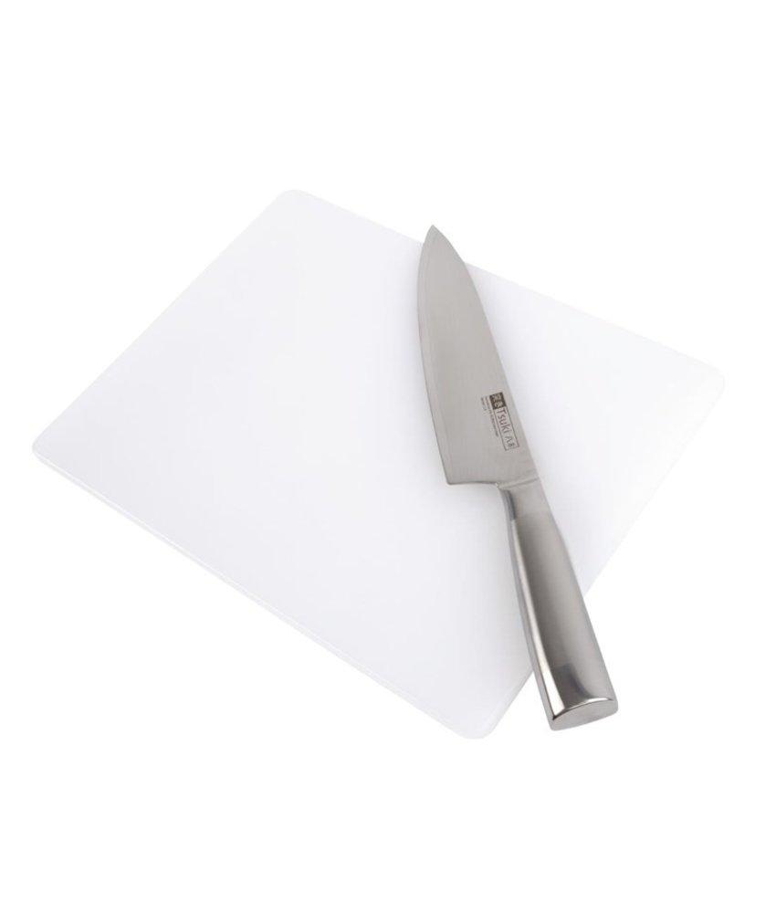Hygiplas Hygiplas standaard snijplank met lage dichtheid wit