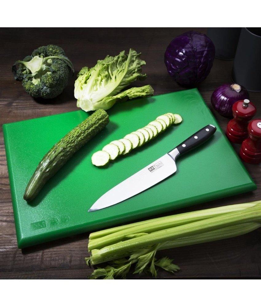 Hygiplas Hygiplas kleurcode snijplank groen 600x450x25mm