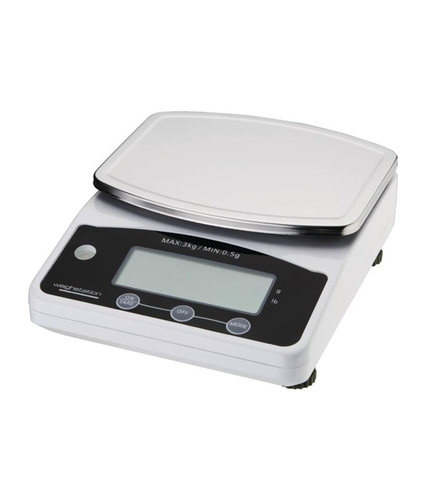 Weighstation Weighstation digitale weegschaal 3kg