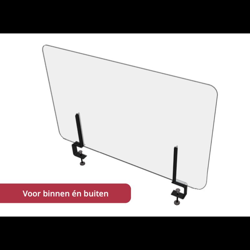 Stylepoint Split screen set van 2 klemmen + 1 scherm 125 X 70 Corona