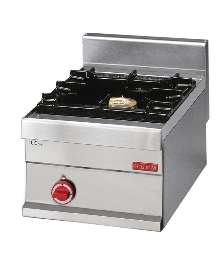GASTRO-M Gastro M 650 gaskooktoestel met 1 brander 65/40 PG/40 P