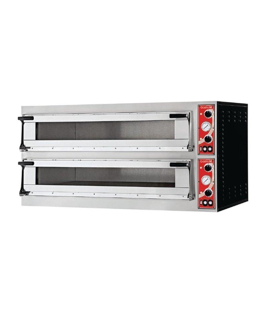 GASTRO-M Gastro M Napels pizzaoven met 2 kamers