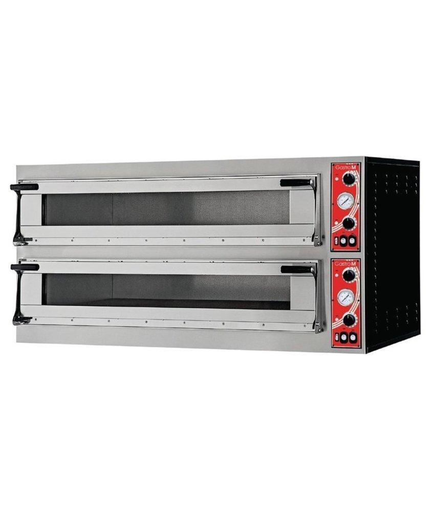 GASTRO-M Gastro M pizzaoven met 2 kamers type Milan 2