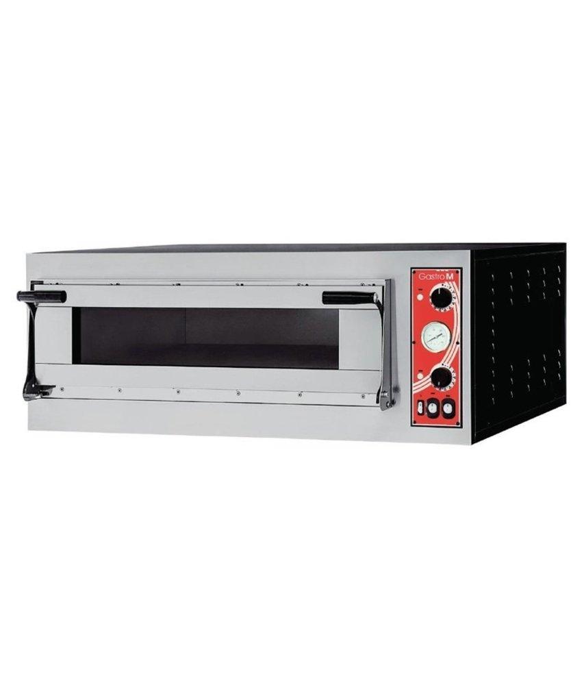 GASTRO-M Gastro M pizzaoven met 1 kamer type Rome 1
