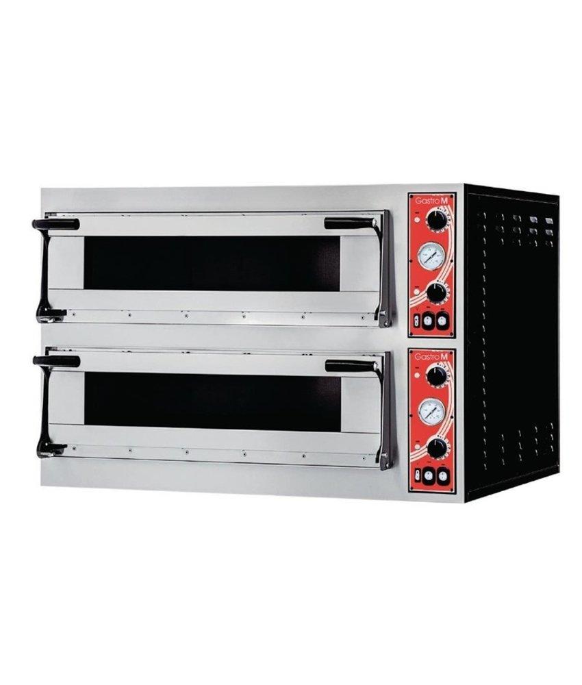 GASTRO-M Gastro M pizzaoven met 2 kamers type Rome 2