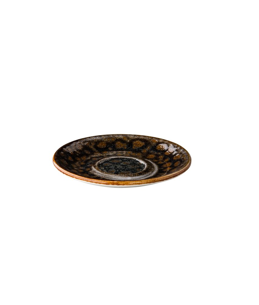 Q Authentic Jersey Multifunctionele schotel bruin 15 cm ( 6 stuks)