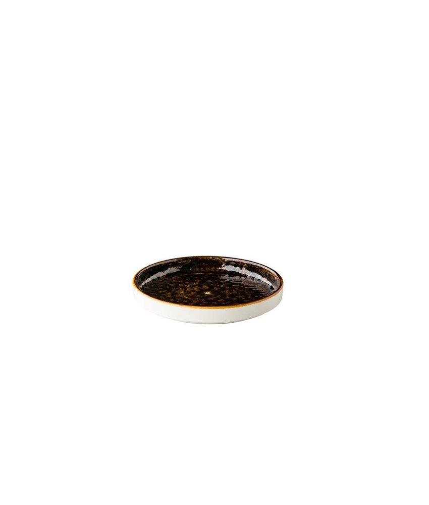 Q Authentic Jersey Jersey bord opst. rand stapelbaar bruin ( 6 stuks)