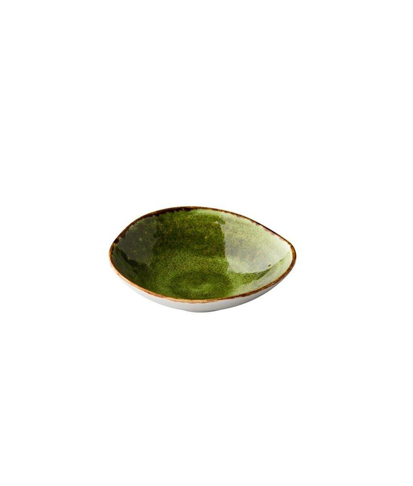 Q Authentic Jersey Kom groen 16 cm 290ml ( 6 stuks)