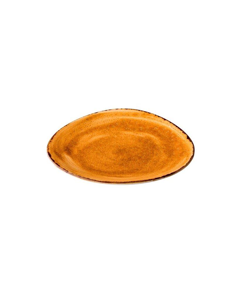 Q Authentic Jersey Bord driehoekig oranje ( 6 stuks)