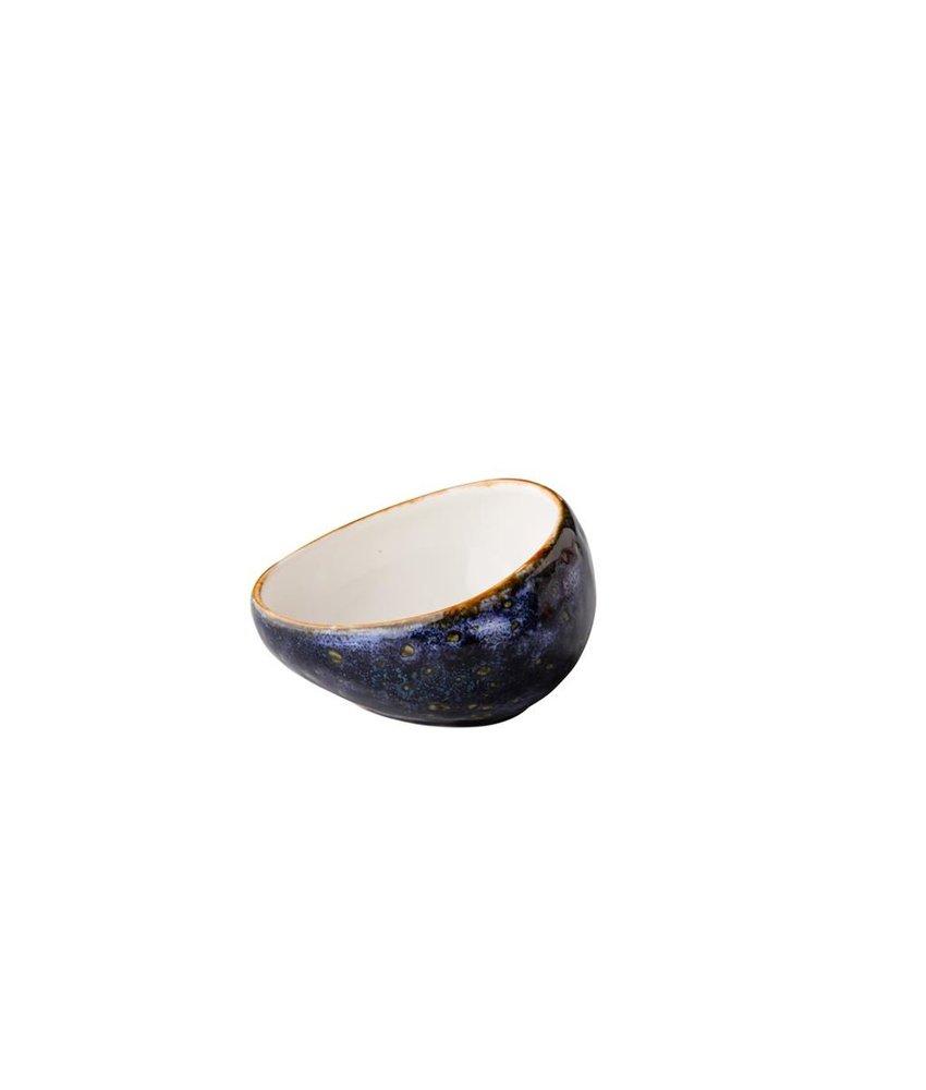 Q Authentic Jersey Saus kom blauw 9 cm 110ml ( 6 stuks)